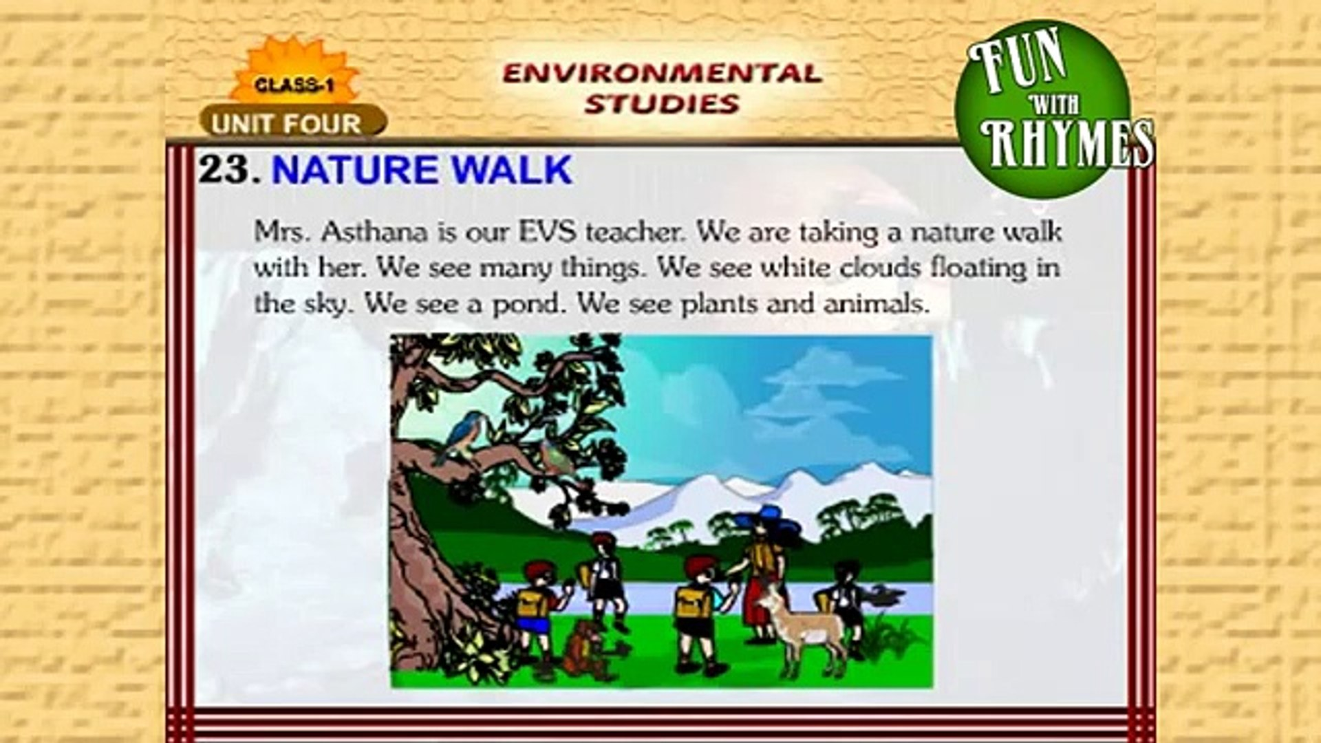 Learning New Things - Nature Walk - Kids Learning Made Fun