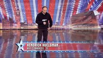 Hendrick Huelsman - Britain\'s Got Talent 2011 audition - itv.com/talent - International Version