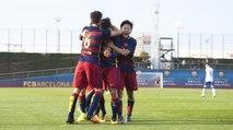 [HIGHLIGHTS] FUTBOL (Juvenil): FC Barcelona A-Real Zaragoza (3-1)