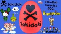 GIANT Tokidoki Play Doh Surprise Egg | Unicorno Royal Pride Cactus Kitties Hello Kitty Frenzies