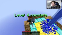 Minecraft: I AM A GIANT!! A GIANT QUEST Custom Map - video