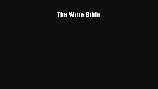 The Wine Bible  PDF Download