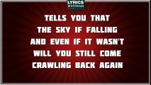 Livin' On The Edge - Aerosmith tribute - Lyrics