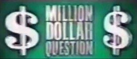 Are You Smarter Than a 5th Grader Music - 1 Million Dollar Question