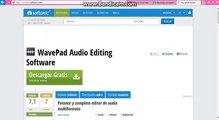 Descargar WavePad Audio Editing Software