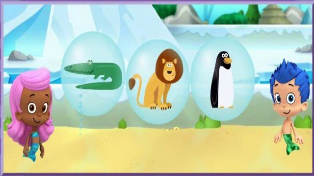 Bubble Guppies - Lonely Rhino Friend Finders -Bubble Guppies Games