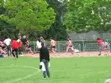 4x100m féminin interclub Rennes 2007