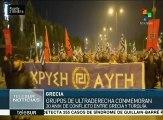 Ultraderechistas griegos conmemoran 20 años de disputa con Turquía