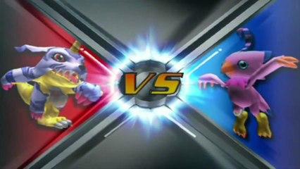 Digimon Rumble Arena 2 : Me Los Como A TODOS, Garurumon El Hambriento - Gabumon Historia #1
