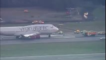 VIRGIN ATLANTIC Flight VS43 Emergency Landing at Londons Gatwick Airport