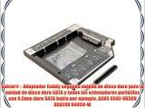 Salcar? - Adaptador Caddy segunda unidad de disco duro para la unidad de disco duro SATA y