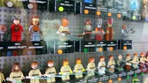 Star Wars Lego MiniFigures Entire Collection with Darth Vader and Luke Skywalker Legos