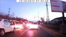 MERCEDES S500 Road Rage in RUSSIA!Дорога ярости и мести