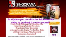 Singorama Review {NEWLY UPDATED} Learn to Sing Singorama Singing Lessons