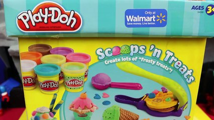 Batman Play Doh Popsicle and a Spiderman Play Doh Popsicle with Superhero Action Figure Toys
