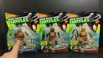 Ninja Turtles Mutations of Michelangelo and Leonardo Having TMNT Metal Head Limbs Toy Review