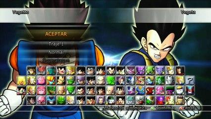 Dragon Ball Raging Blast 2 : Vegetto VS Broly SSJ3 Y Vegeta SSJ3 VS Kid Buu - GRAN EPICIDAD !