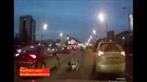 NEW Desperate Russian Woman Lying in the Middle of the Road 2014. Watch in Full HD 1080dpi