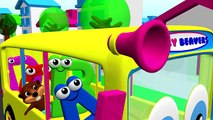 ABCs 123s + More   Alphabet Numbers Nursery Rhymes   Kids Learn 3D Cartoons by Busy & Baby Beavers