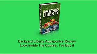 Backyard Liberty System Review Aquaponics From Backyard Liberty