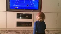 Open d'Australie : Novak Djokovic fait vibrer son fils devant sa télé !