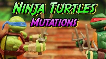 Teenage Mutant Ninja Turtles Mutations Leonardo and Raphael Have Bionic Arms and Legs