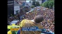 Tiago Abravanel agita bloco de rua em São Paulo