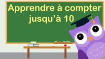 Apprendre à compter jusqu'à 10 avec OLI la chouette / Learn to count to 10 in french with OLI