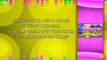 Simple Simon Karaoke Version With Lyrics Cartoon/Animated English Nursery Rhymes For Kids