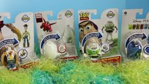 Hatch N Heroes Surprise Eggs with Toy Story Buzz Lightyear and Finding Nemo with Big Hero 6
