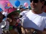 Carnaval canin à Copacabana au Brésil