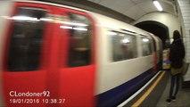 London Underground Bakerloo Line Oxford Circus to Embankment