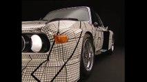 BMW Milestone 3 - Studio Shots Art Car Frank Stella BMW 3.0 CSL Trailer