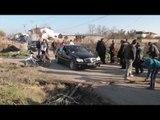Report TV - Fier, banorët bllokojnë rrugën ku punohet për bypassin