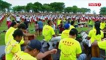 Tahiti : près de 3.000 Polynésiens dansent le Ori Tahiti