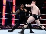 WWE Monday Night RAW 04/01/2016 Roman Reigns vs Sheamus World Heavyweight Championship
