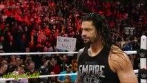 WWE RAW 1-25-16 - CM Punk Returns & Confronts Roman Reigns ! [EDIT]