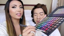 A wife is doing her husband make over...really cool and stunning.all must watch and enjoy