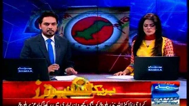 Nadeem Nusrat on cancellation of Police bail of MQM Quaid Mr Altaf Hussain in money laundering