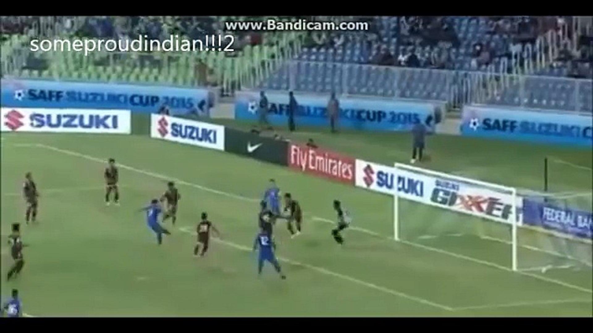India vs Sri Lanka 2-0, SAFF Suzuki Cup 2015: Highlights of all Goals India  wins!!!