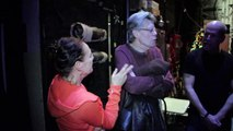 Stephen King chats with Bruce Willis for Misery on Broadway