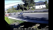 Security cam captures insane number of crazy events in BC town