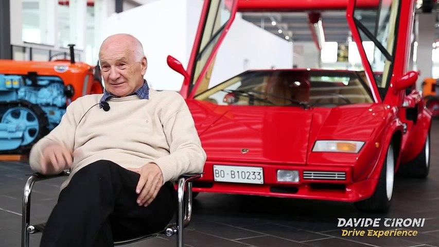 Stanzani racconta: La Lamborghini più innovativa - Davide Cironi drive experience
