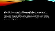 Aaron Anastasi Superior Singing Method Review, Scam or Legit - Honest Review!