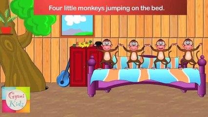 Five Little Monkeys - Sing - A - Long (Karaoke Version with Lyrics)