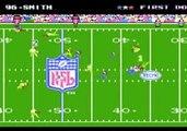 Tecmo Super Bowl - NES - Eagles vs Rams