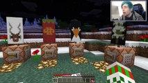 TDM Тhе Diamоnd Мineсart Minecraft | BLEW UP SANTAS SLEIGH | Xmas Accident Custom Map