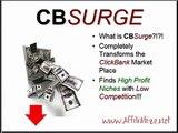 CB Surge, clickbank analytics software, traffic generation software, data analytics.