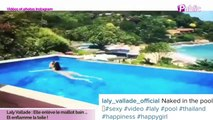 Exclu Vidéo : Laly Vallade : Elle enlève le maillot bain et enflamme Instagram !