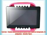 Tab Zoo - Funda universal para tablet con soporte integrado 10 pulgadas - dise?o Tigre